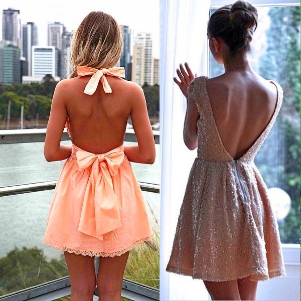 Как сшить девочке платье с открытой спиной 24