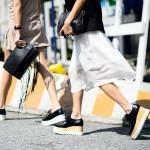 Кеды на высокой платформе: модный тренд этого сезона