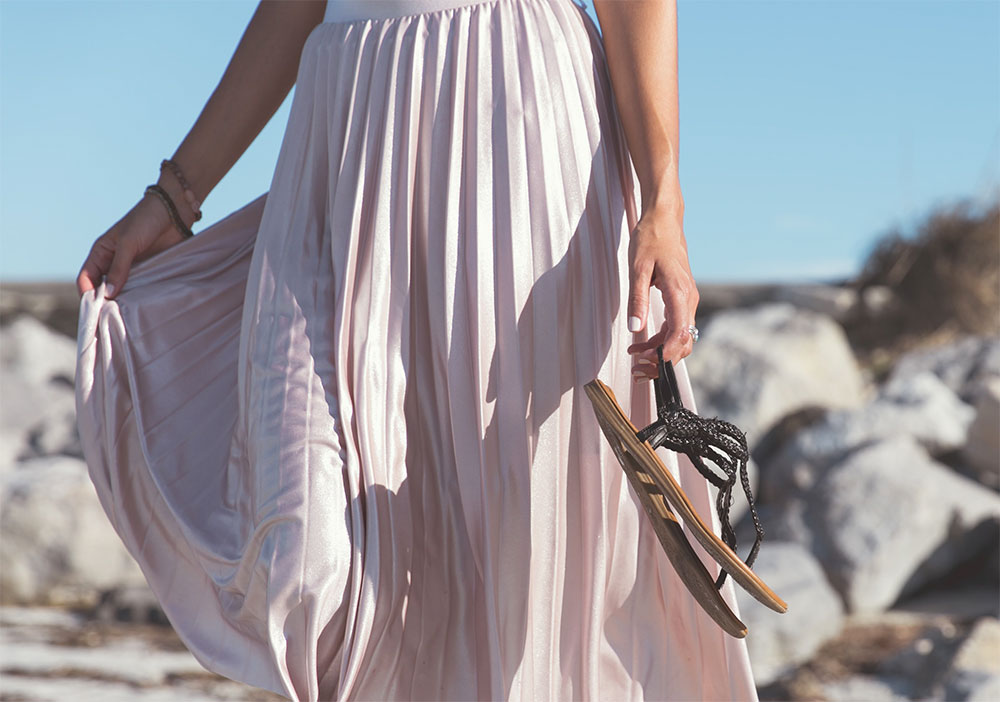 как выбрать длинную юбку