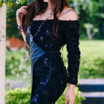 Черное вечернее платье: шик женской фигуры
