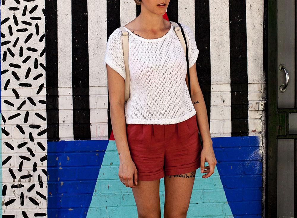 шорты женские с чем сочетать