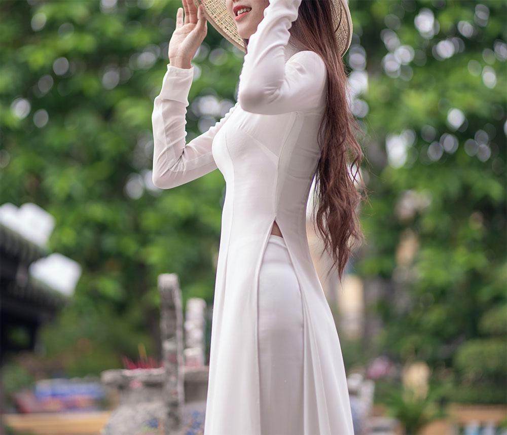интересное белое платье