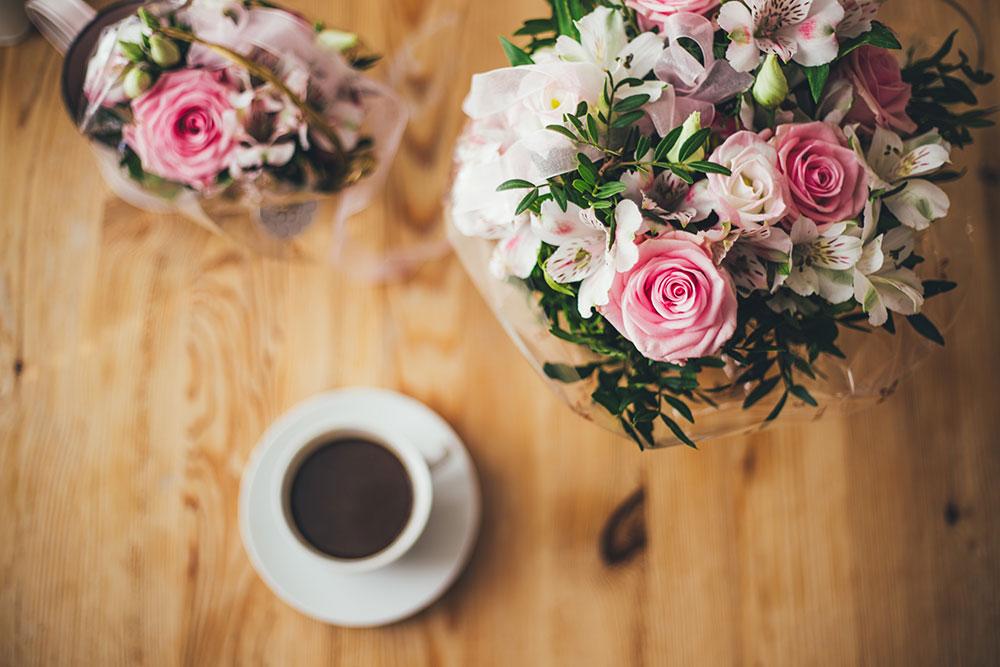 красивые букеты цветов для женщин