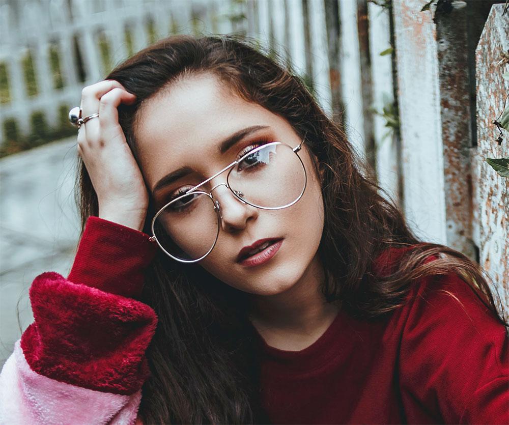 овальная форма лица очки
