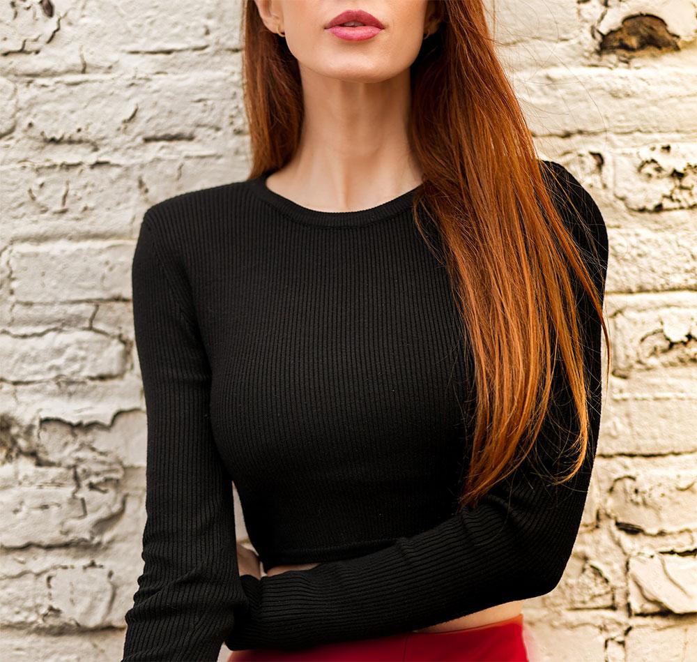 как выбрать черную блузку