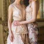 Красивые и модные модели длинных платьев 2021 года