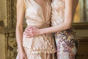 нарядные длинные платья