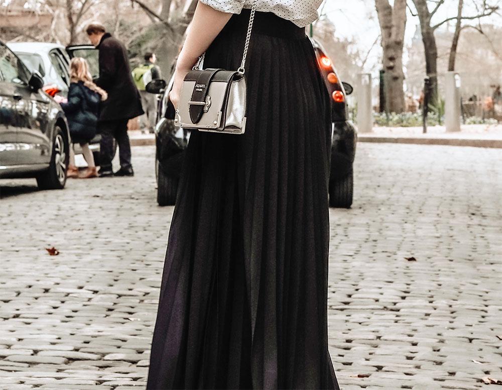 модные фасоны длинных юбок