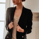 Строгие женские черные пиджаки с фото на 2021 год