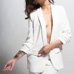 Самые модные женские пиджаки белого цвета: фото и советы стилистов