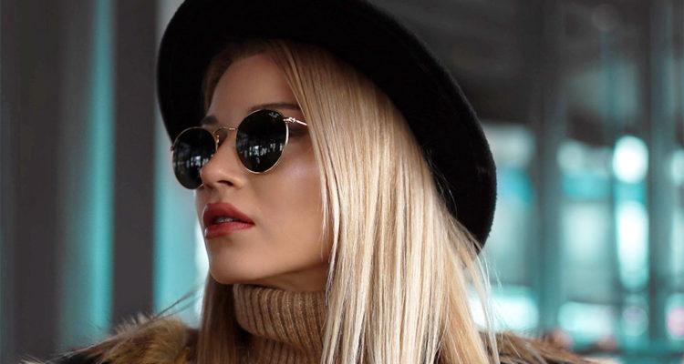 красивые круглые очки женские
