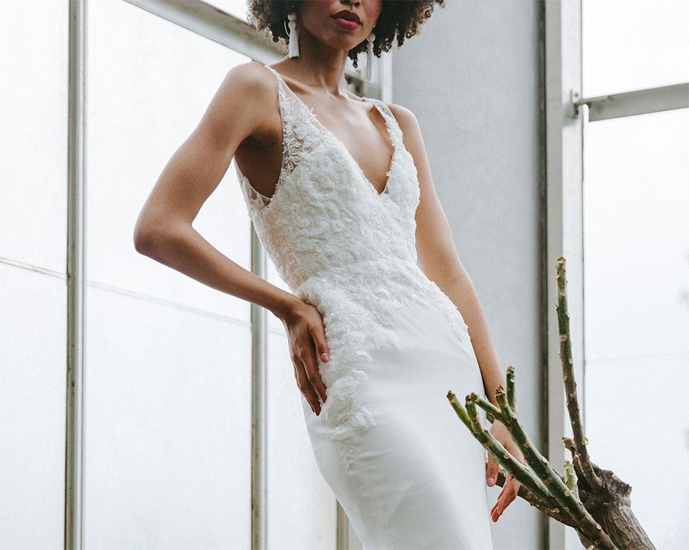 красивое белое платье на выпускной