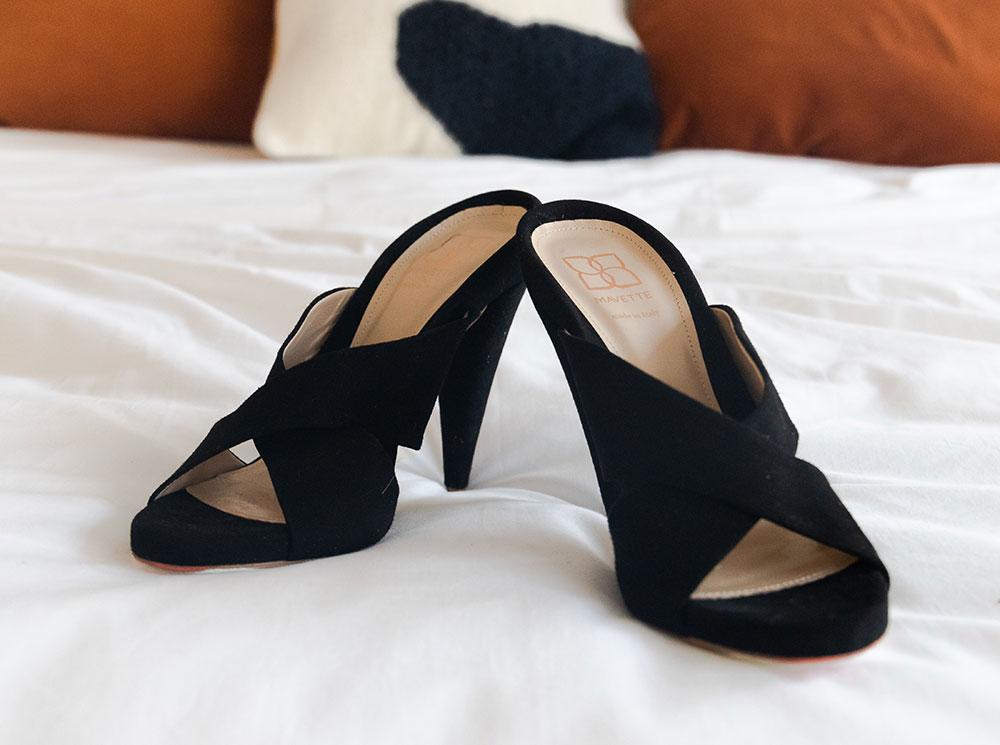 элегантные босоножки на каблуке