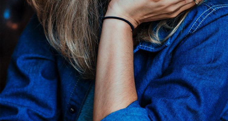 женские синие рубашки